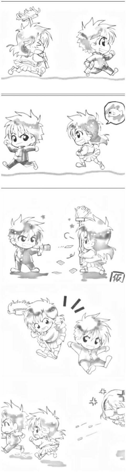 Kaito & Aoko | Magic Kaito 1412