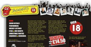Bournemouth Comedy Club. It's the best night out in Bournemouth, Leeds or Brighton, Jaggers Comedy Club - start your stag or hen night with us. Includes nightclub entry as well. Jaggers Comedy Club is one of the busiest Saturday night shows and regarded as one of the best weekly comedy shows in the UK!  Tickets from £14.50pp including after show nightclub.  Central location, buffet available. See some of the UK's funniest comedians!