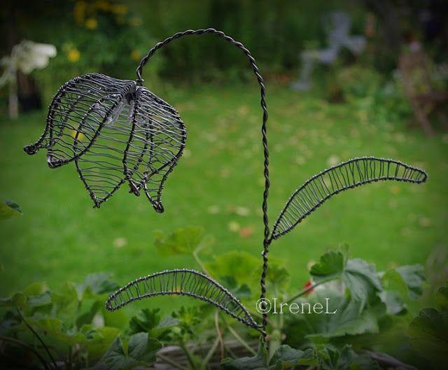 Blomster: Trädgårdskonst