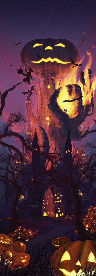 halloween spirit in lakewood