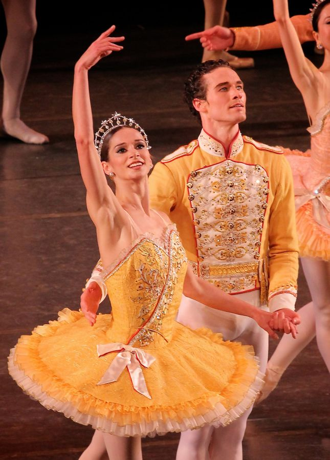 Polina Semionova and Cory Stearns, American Ballet Theatre, Theme and Variations, November 7, 2013 (2)