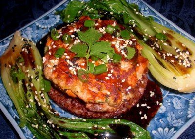Salmon cakes, Tyler florence and Hong kong on Pinterest