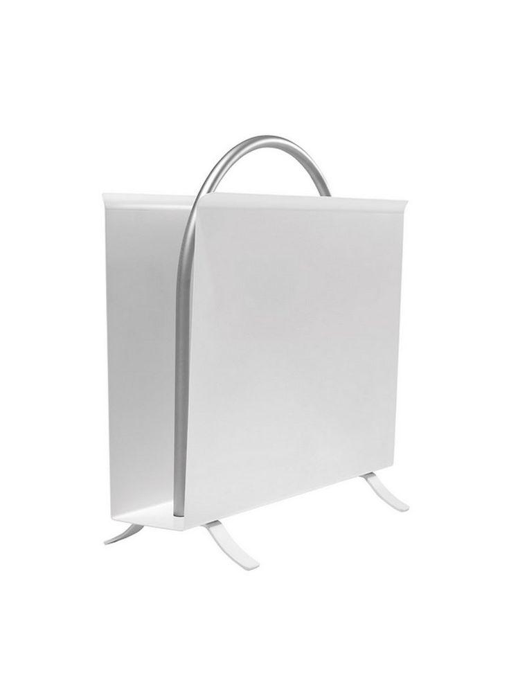 Gispen 1022 lectuurbak wit Lectuurbak Kleur: wit Maten: L 38,5cm / H 38,5cm / B 15,5cm Levertijd: 1-2 weken