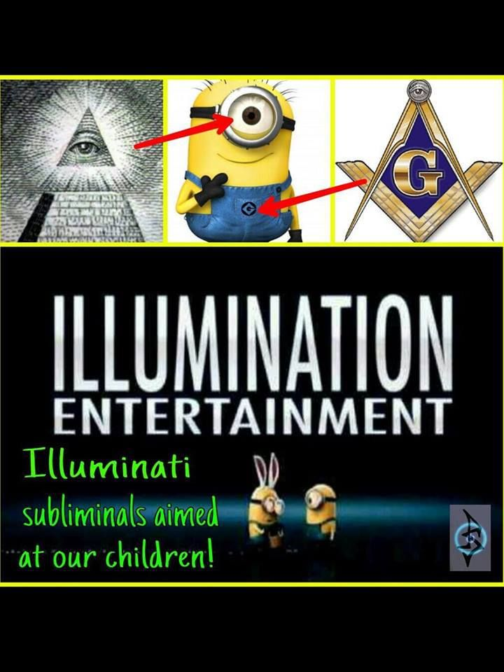 Illumination Entertainment- Illuminati subliminals aimed at our children