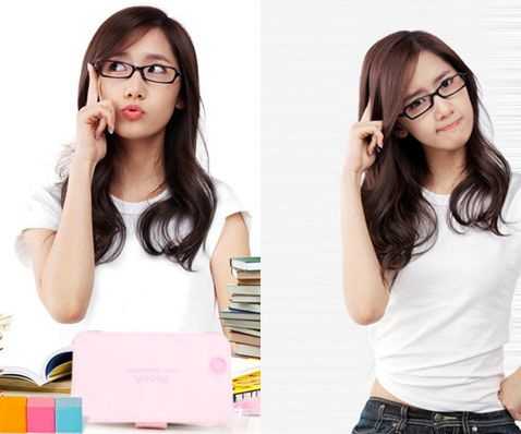 [ENDORSEMENT] Yoona with glasses