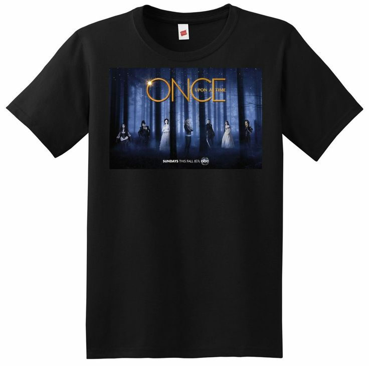 New once upon a time t shirt season small medium large for Adult medium t shirt