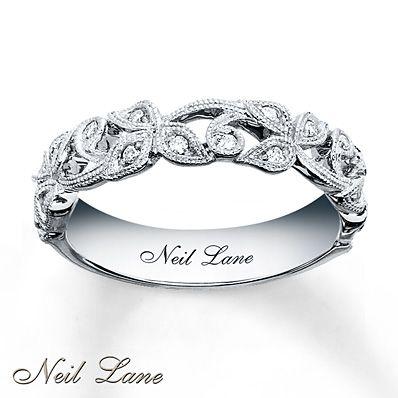 Neil Lane Designs Ring 1/8 ct tw Diamonds Sterling Silver $299.99