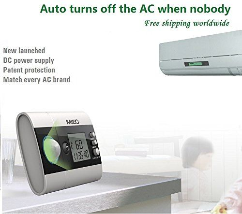 MIEO DC200A Air Conditioning Power Controller Energy Saver for All Split Wall Mounted and Floor Stand Air Conditioners
