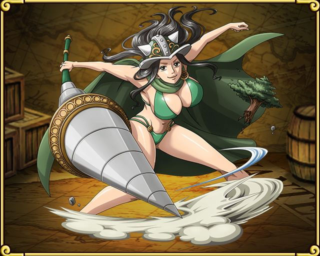 Female Giant Imperial Warrior Green Pirates
