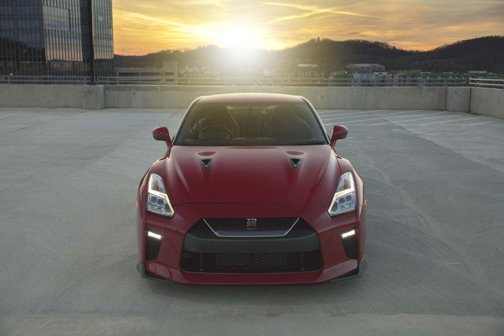 2018 Nissan GT R Track Edition Red Front View
