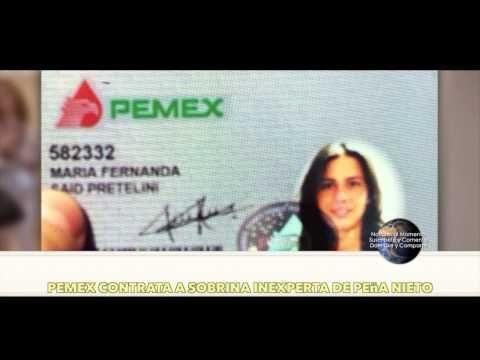 Pemex contrata a sobrina inexperta de Peña Nieto