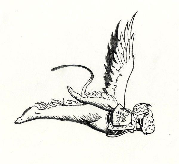 Best 25 Winged Monkeys Ideas On Pinterest