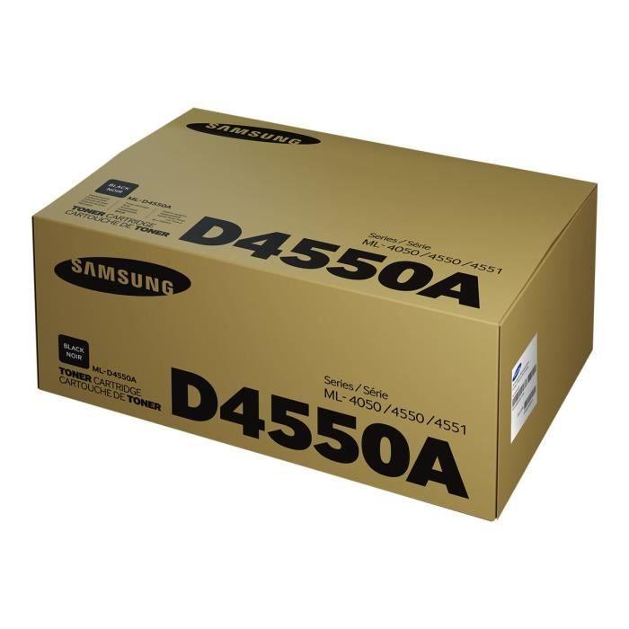 Cartouche de toner noir Samsung ML-D4550A (SU680A) pour ML-4050N/ND/ML-4550/ML-4551 Series