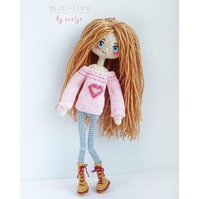Tiny Amigurumi Doll : Best mini tiny dolls images on pinterest
