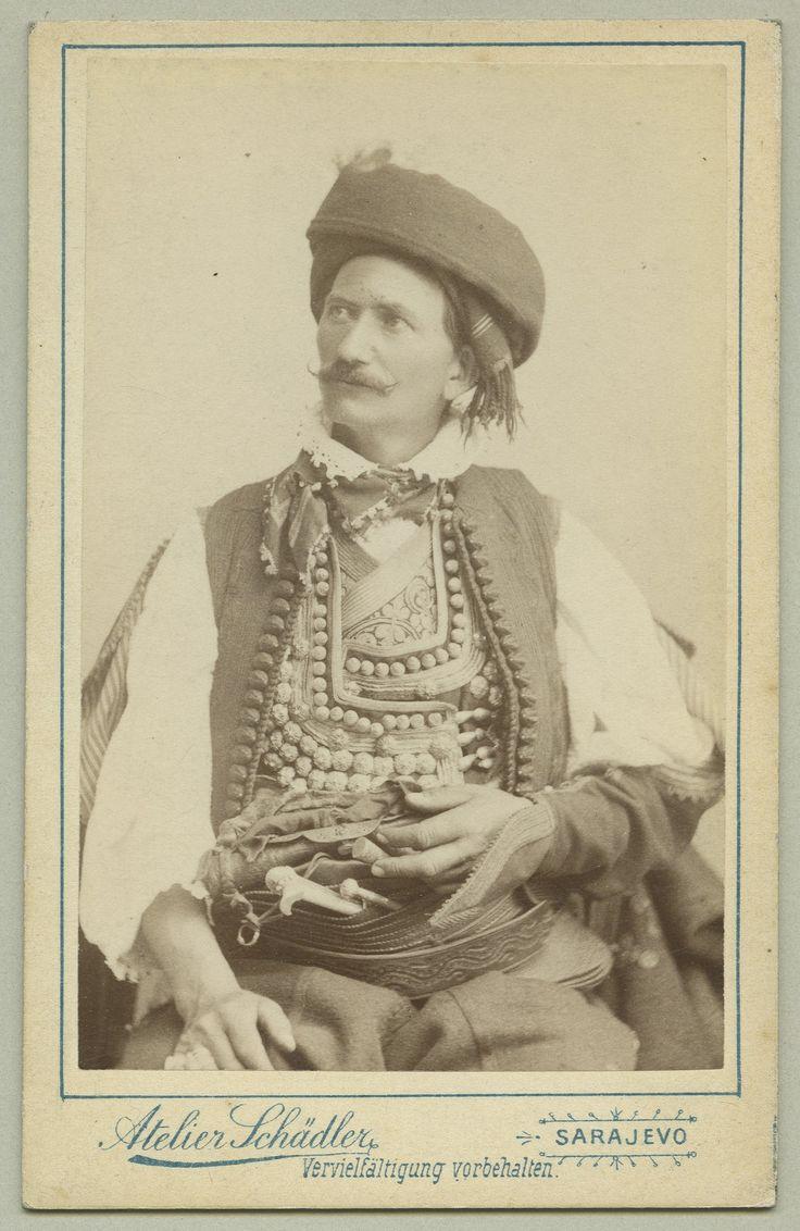 Traditional Herzegovinian costume, © The Austrian Museum of Folk Life and Folk Art