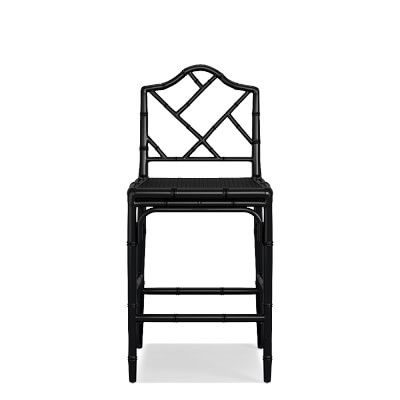 Chippendale Counter Stool Frame Black Counter Stools