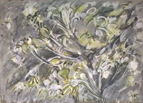 Mihaela Marilena Chitac, BLOOMING TWIGS on ArtStack #mihaela-marilena-chitac #art