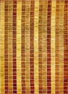 Tappeto Gabbeh 2.41x1.70  I #tappeti #Gabbeh sono composti da lana filata mano, sia a livello del vello che dell'ordito, e il filato è tinto servendosi di tinture vegetali. Sono molto più spessi rispetto ad altri tappeti orientali: talvolta raggiungono infatti 2,5 cm di spessore. Questo esemplare dai toni caldi e accoglienti presenta delle lana morbide e di qualità adatto per arredamenti contemporanei.  Scopri il prezzo! http://www.zarineh.it/