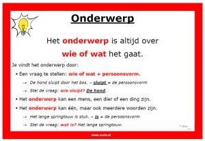 """Weet je niet wat """"Subject"""" betekent? Het Nederlandse woord is """" onderwerp"""". Lees deze voorbeelden. Begrijp je het nu?"""