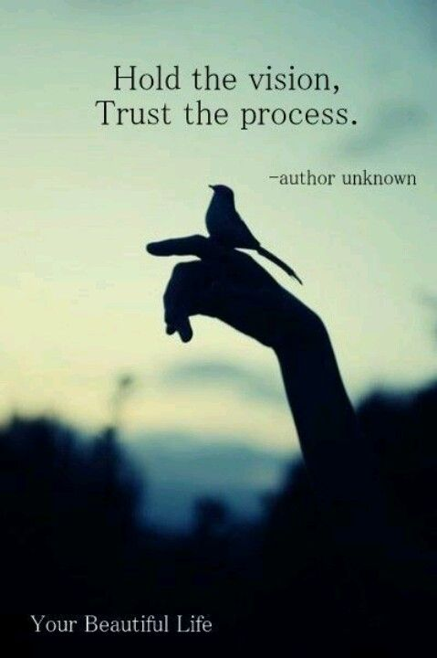 The process is key