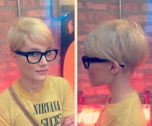 17 Best ideas about Blonde Pixie Cuts on Pinterest