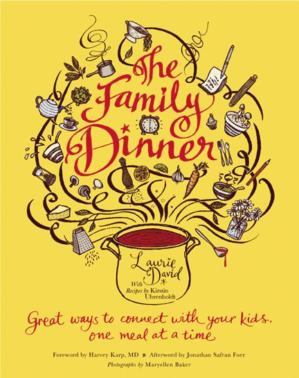 my newest favorite cookbook - with lots of ideas for family interaction!