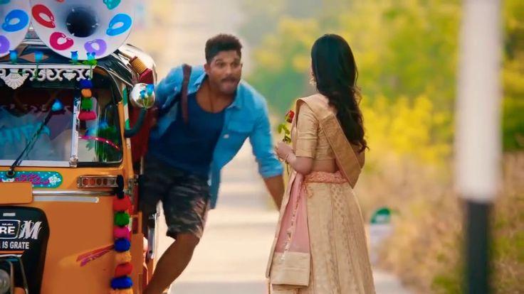 Allu Arjun latest movie trailer released on previous day!!!!