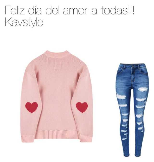 """""""Sin título #15"""" by karen-svar on Polyvore featuring moda, WithChic y love"""