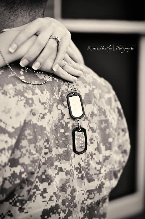 dog tags <3 every military wife, fiance, and girlfriend should have a pair!
