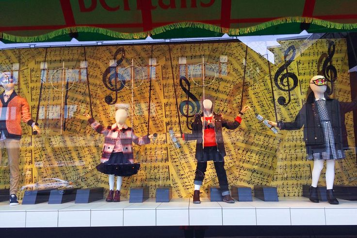 BENTALLS Christmas Window Display. OLD MODERN KIDS - collection with new understanding of Vintage style.