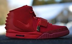 "Pairs of the Nike Air Yeezy 2 ""Red October"" have arrived at the homes of their lucky owners. Sole Flick shares a look at his all-red Yeezys with the world, dropping off detailed images of 2014's biggest and most surprising release thus far. Peep the last official Kanye West signature from Nike in the photos below. If you're looking forward to his upcoming collection with adidas, he says they're going to be easier to get."