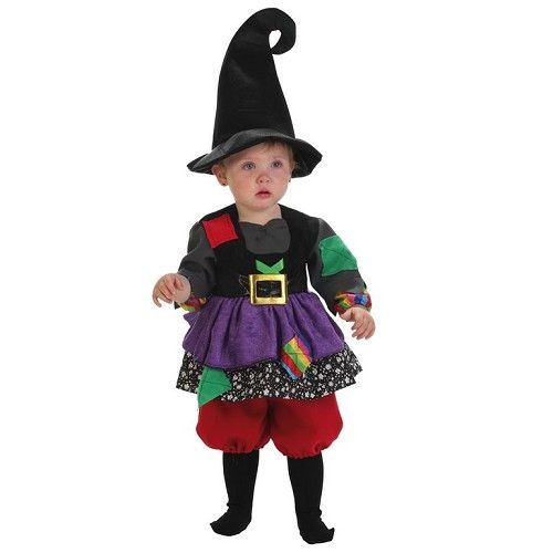 Disfraz Bruja Colorines Bebe (0 a 12 meses)