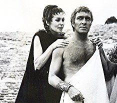 Christopher Plummer and Lilli Palmer in Oedipus the King (1968)