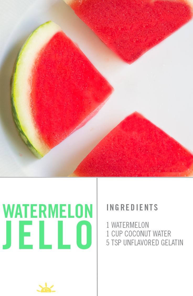 It's always fun to give your kids a snack that looks as cool as it tastes. This watermelon jello is easy to make and, let's be honest, you want to try it too!