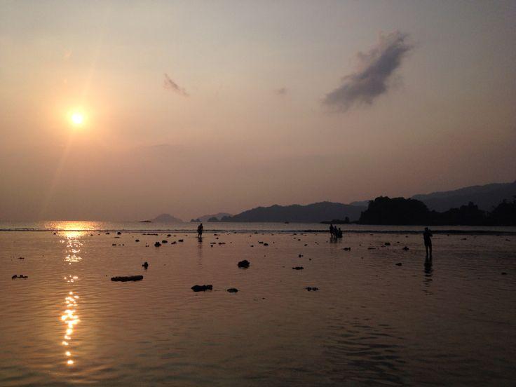 Sunset at Kiluan, Lampung