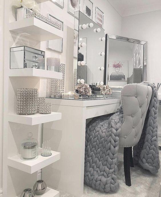 30 Inspiring Makeup Rooms Decor Ideas for Your Home – Muah Club