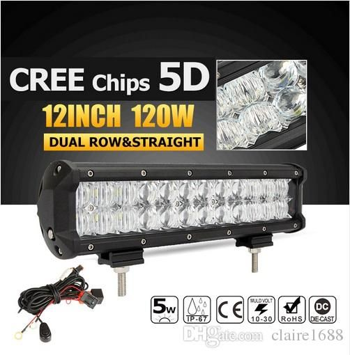 New products 837 pinterest 5d 120w 12inch cree chips straight led light bar offroad led work driving light bar combo beam 12v 24v truck suv atv 4x4 mozeypictures Choice Image