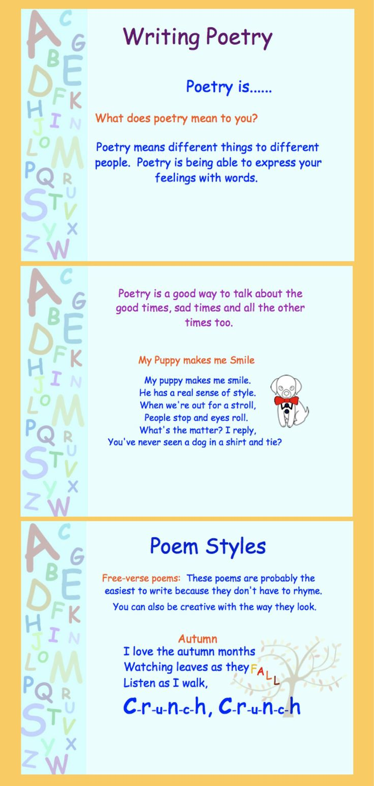 Poetry Writing for Gr 35 PDF Notebooks, Poetry and Writing