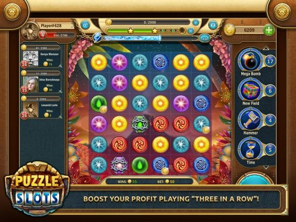 Cash Out with Game Insight's Puzzle Slots!
