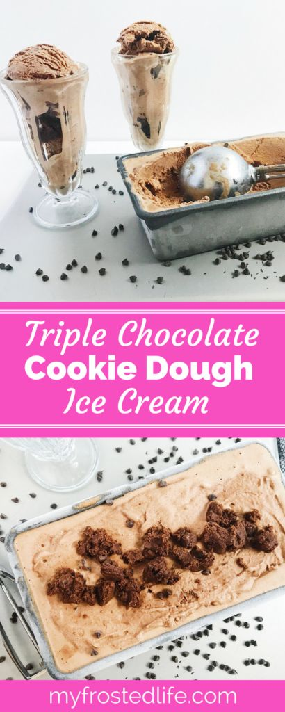 Have you ever wanted to add more chocolate to your cookie dough ice cream? Then I have the perfect summer ice cream recipe for you! This Triple Chocolate Cookie Dough Ice Cream combines a homemade, old fashioned dark chocolate ice cream with the best triple chocolate cookie dough. Served in a cone or as a sundae, this DIY ice cream is perfect for any party or social event and tastes as it came straight from the ice cream parlor. Click through to see my quick ice cream shortcut that does not…