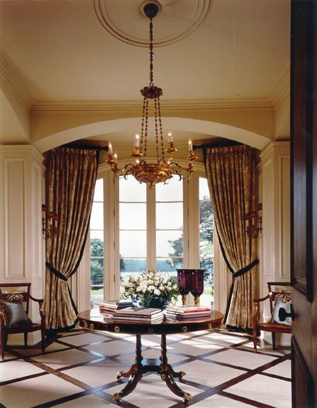 Large Foyer Window Treatment : Foyer by sherrill canet lookbook foyers and window