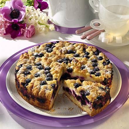 Blaubeer-Streuselkuchen Rezept