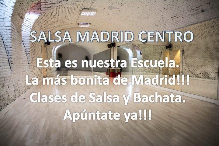 Escuela de Salsa y Bachata. SALSA MADRID CENTRO