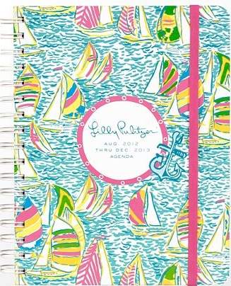 Keep yourself organized from the start of the school year with this Lilly Pulitzer Agenda that will give you a happy reminder of summer all year long!