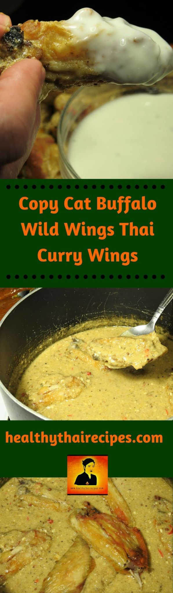I reverse engineered one of our favorite treats from Buffalo Wild Wings. The Thai curry wings are delicious and a fun adventure to recreate. The way I went about it was not what you might expect.