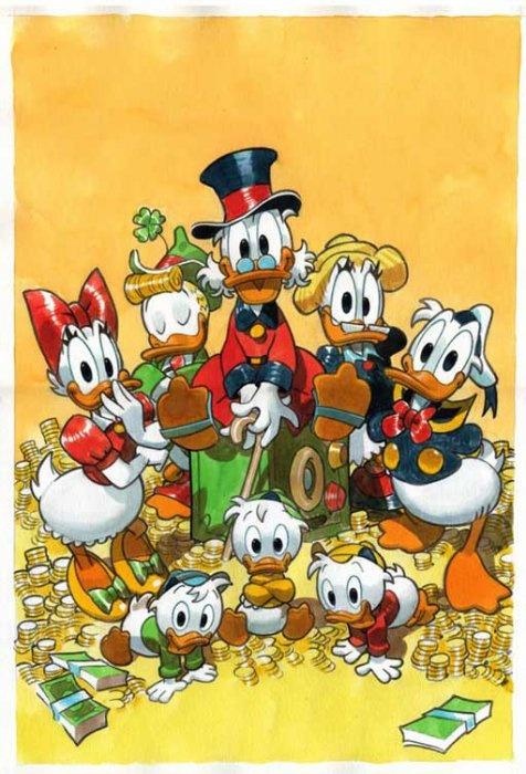 Donald's family.
