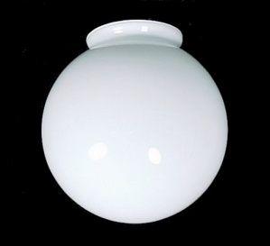 White Glass 3 1 4 Quot X 6 Quot Ball Globe Light Shade Lighting
