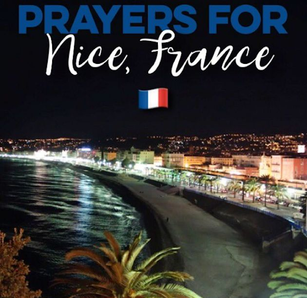 WE LOVE YOU NICE, FRANCE. WE ARE PRAYING FOR YOU xox ♥ @UKGIRLINUSA2
