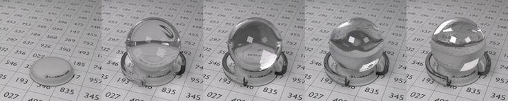 LuxRender Wiki - Ejemplos de IOR (índice de refracción)