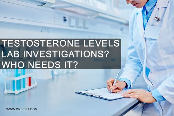 #Testosterone levels #Lab #Investigations –Who Needs It?  #Serum testosterone levels follow a pattern i.e. serum levels are generally low in the evening hours and peak early in the morning.